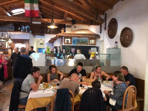 50 ristorante riviera calceranica al lago trento