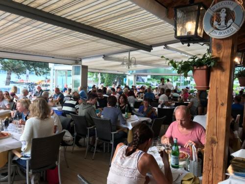 51 ristorante riviera calceranica al lago trento