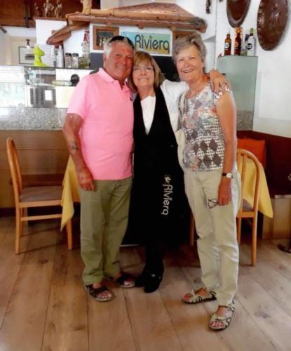 87 ristorante riviera calceranica al lago trento