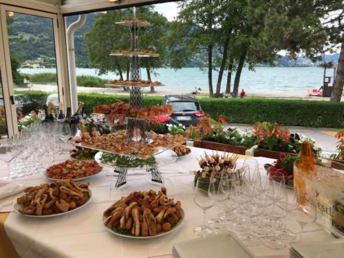 89 ristorante riviera calceranica al lago trento