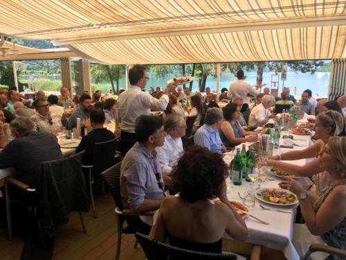 22 ristorante riviera calceranica al lago trento